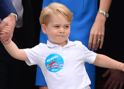 Prince George Is the Spitting Image of His Dad in New Birthday Photos