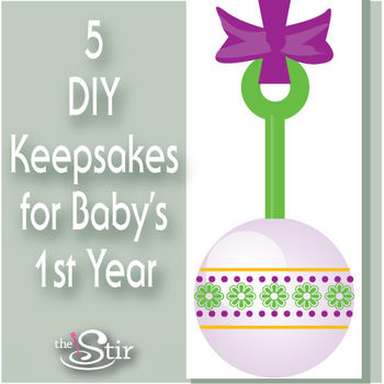 keepsakes baby's first year