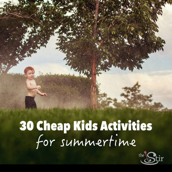 cheap summertime kids activities