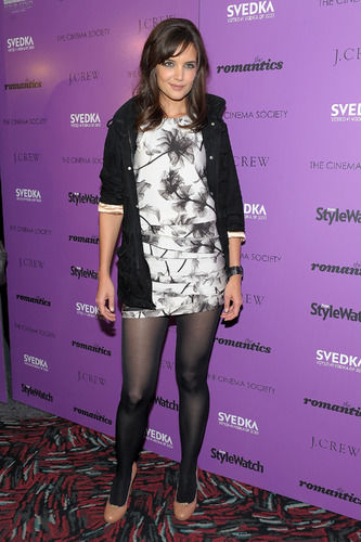 Katie Holmes tights