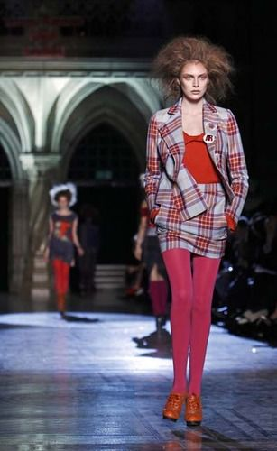 Vivienne Westwood colored tights
