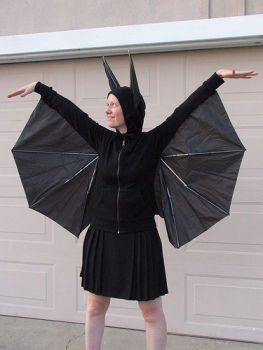 bat Halloween costume umbrella