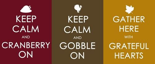 keep calm thanksgiving prints
