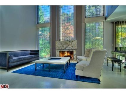 John Mayer living room