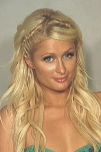 Paris Hilton Mugshot