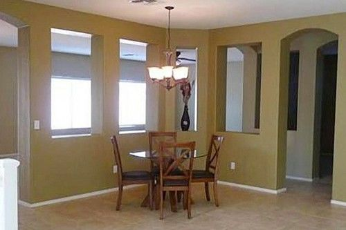 Bristol Palin dining room