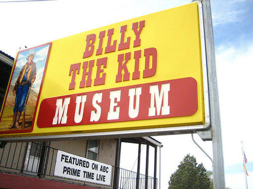 billy the kid outlaw. illy the kid museum