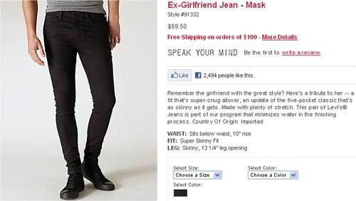 ex girlfriend jeans