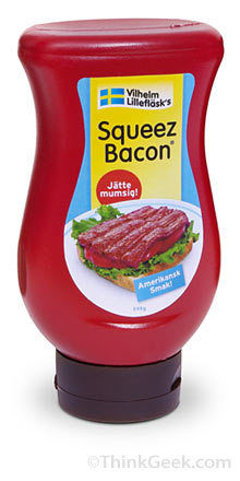 squeezable bacon