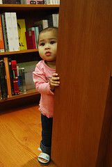 baby kicked out of library