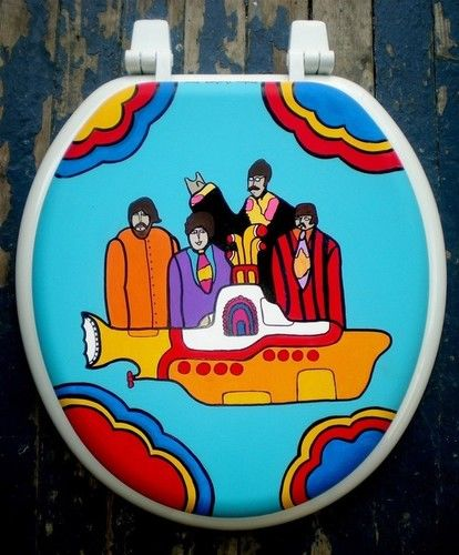 Beatles Toilet Seat