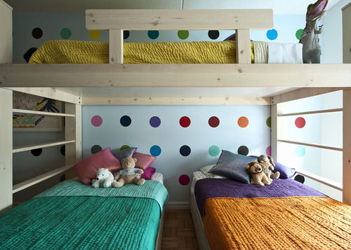 triplets room makeover kids beds