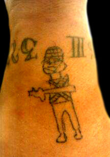 Army Man Tattoo