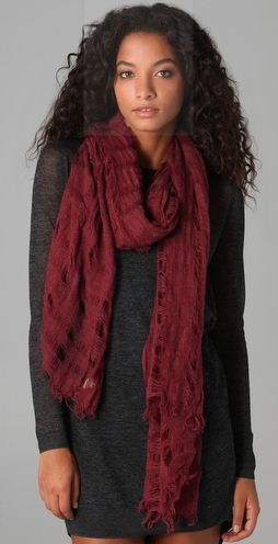 berry scarf