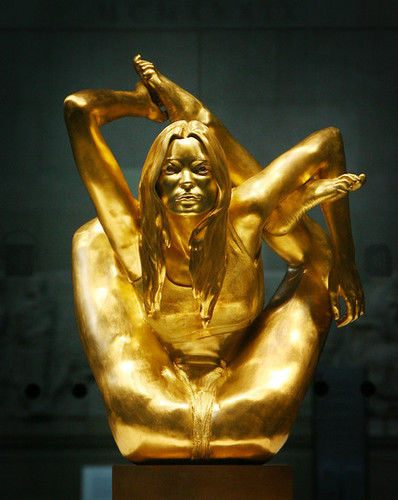 Kate Moss Sculpture