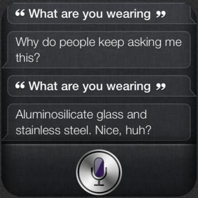 what are you wearing siri