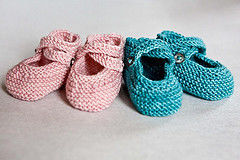 twin baby booties