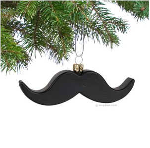 ornament - mustache