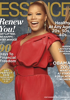 Queen Latifah Essence Cover