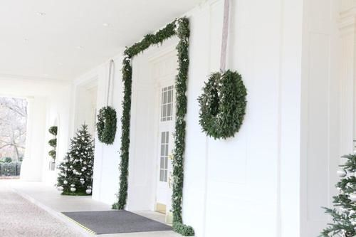 This December the White House has 37 Christmas trees and more than 10000