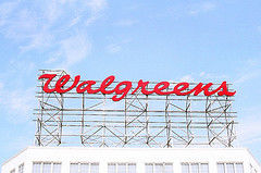 walgreen sign