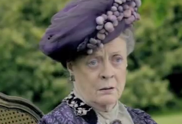 maggie smith lady violet