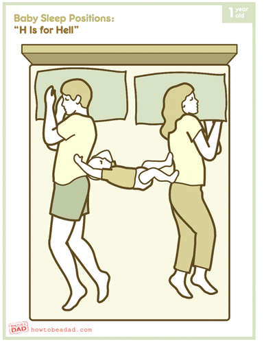 cosleeping illustration
