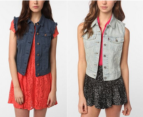 Urban Outfitters vests