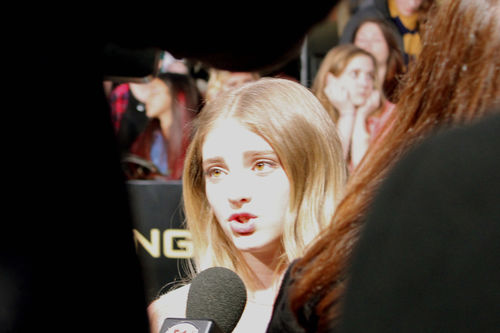 Willow Shields prim hunger games