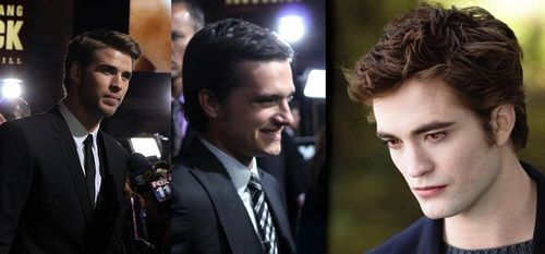 liam hemsworth josh hutcherson robert pattinson
