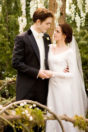 breaking dawn wedding scene