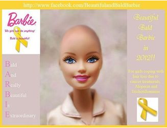 Bald Barbie