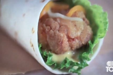 burger king wrap
