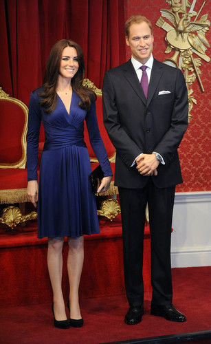 wax royal couple