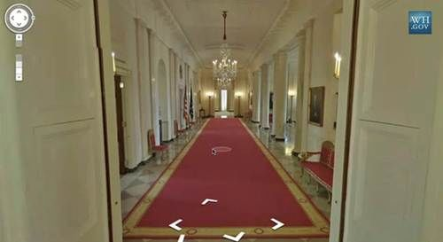 Google Maps White House