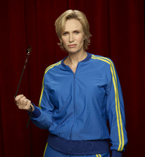 Jany Lynch Sue Sylvester Glee