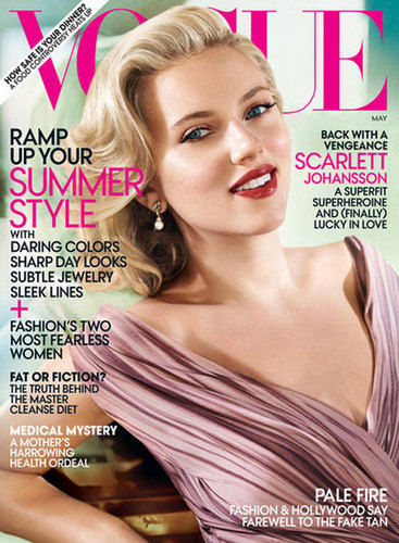 scarlett johansson cover of vogue
