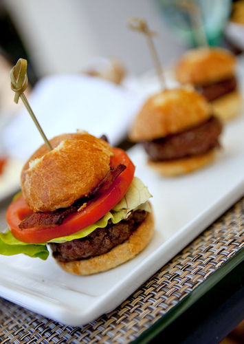 Kobe beef sliders