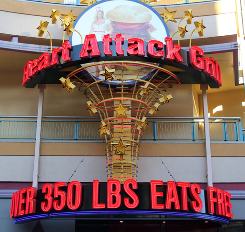 heart attack grill collapse