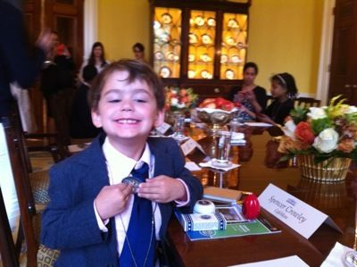Child Journalist at Michelle Obama Round Table