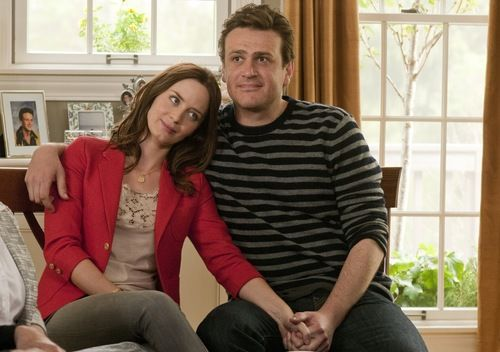jason segel and emily blunt in The Five-Year Engagement