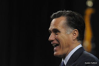 romney laughs