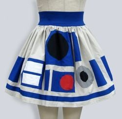 r2-d2 skirt star wars dress