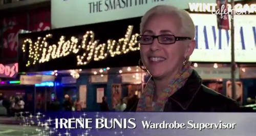 irene bunis wardrobe supervisor breast cancer on broadway with kids