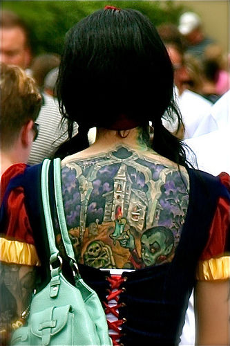 Snow White Gets A Tattoo