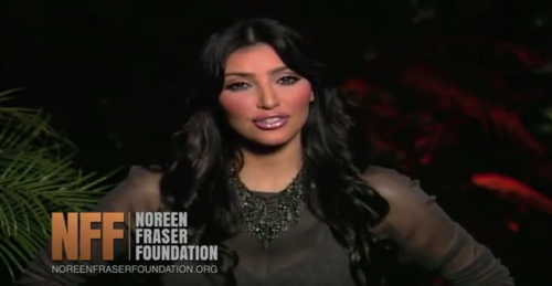 kim kardashian noreen fraser foundation