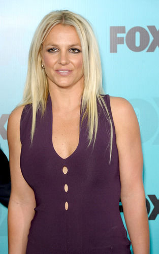 britney spears at x-factor post show party