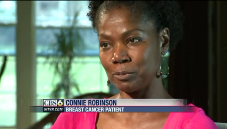 connie robinson virginia breast cancer survivor