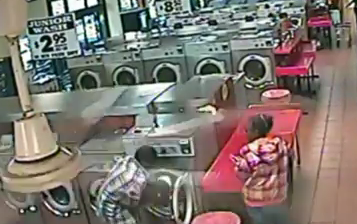 Baby in Washer