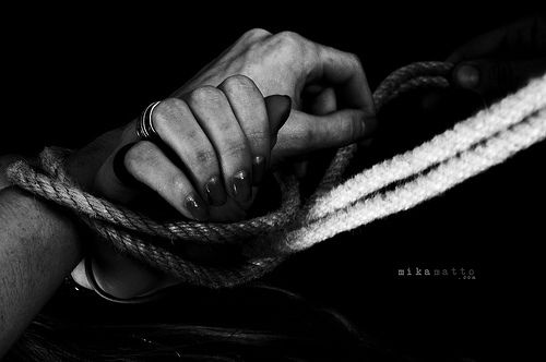 50 Shades of Grey style bondage